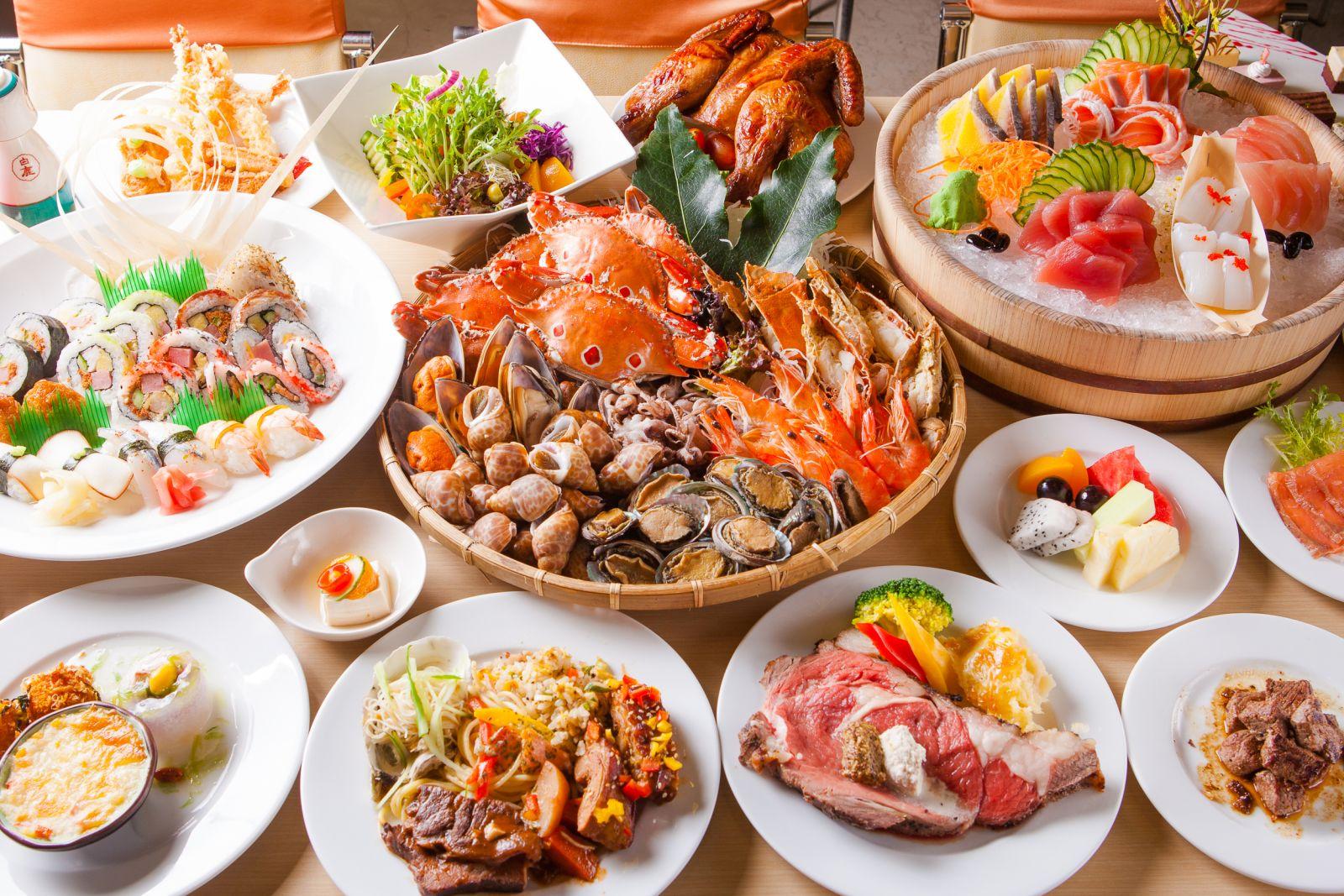 香港海鲜展现场图片